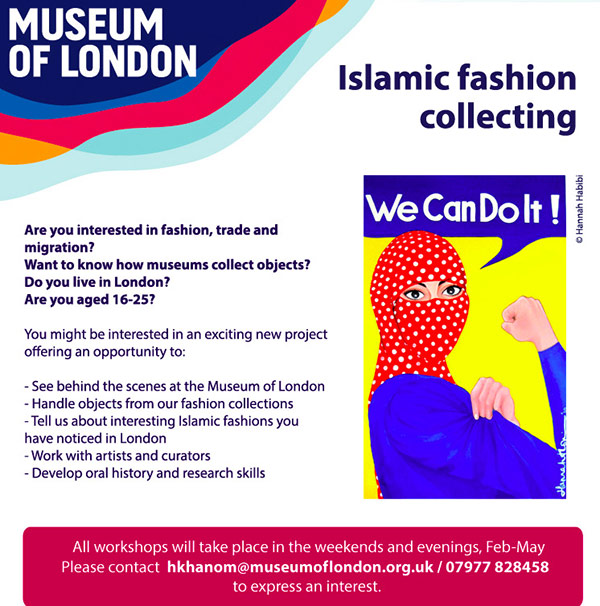 Islamic Fashion Collecting